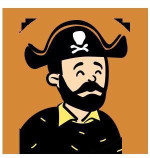 bring a pirate
